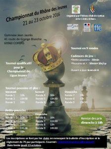 Affiche Rhône Jeunes 2016