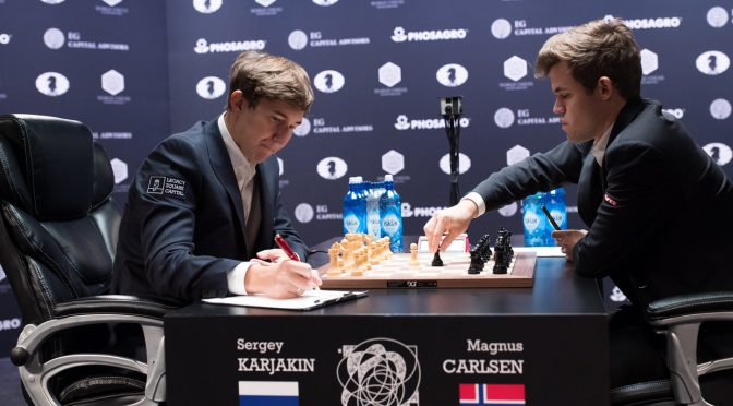 Championnat du monde 2016 – Carlsen-Karjakin