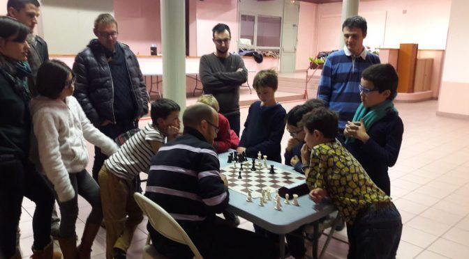 8 Lions et 2 papas, pour le premier tournoi des familles organisé à Oullins