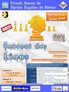 N4 adulte : Ronde 7 contre Corbas 2 @ Echiquier des Lions