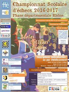Ste Foy Lès Lyons : 3ème étape du circuit jeune de parties rapides du Rhône @ Gymnase Raymond Barlet   Sainte-Foy-lès-Lyon   Auvergne-Rhône-Alpes   France