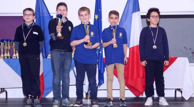 Championnats Jeunes d'Echecs du Lyonnais 2017 – Album photo