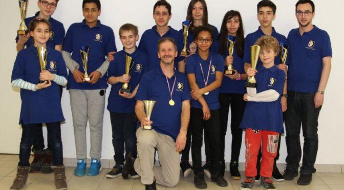 Championnat de ZID du Lyonnais : les podiums du club
