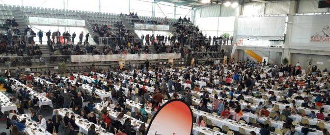 En direct des championnats de France Jeunes – Belfort 2017