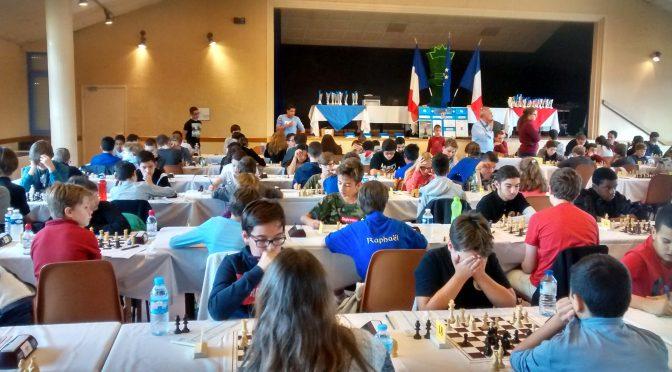 En direct du championnat du Comité Rhône et Métropole de Lyon Échecs des Jeunes