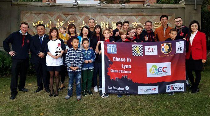 Chess In Lyon en Chine – Une sacré aventure pour 4 Lions