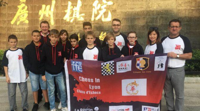 Chess In Lyon : l'aventure continue à Canton