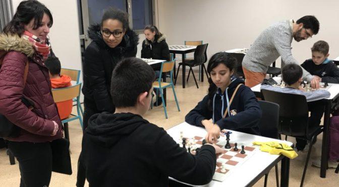 Semaine du jeu d'échecs au féminin