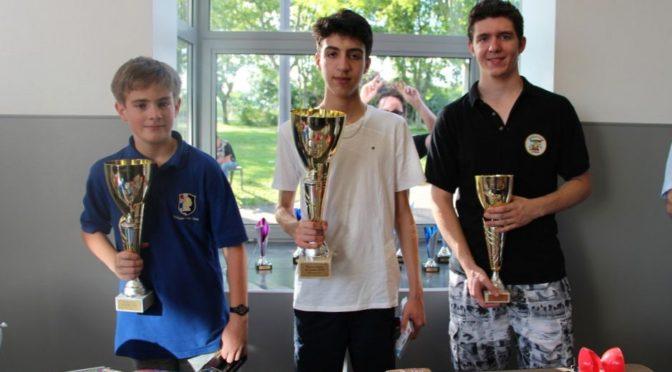 Corbas : Sofiane remporte la dernière étape du circuit jeune du Rhône