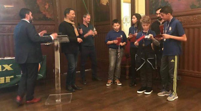 Lyon 3ème : Les jeunes Lions mis à l'honneur