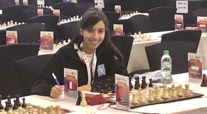 Sarah à MumbaÏ pour les championnats du monde