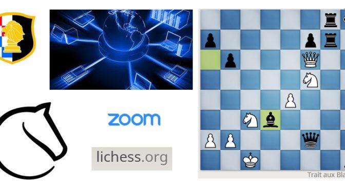 Vos cours d'échecs basculent sur internet