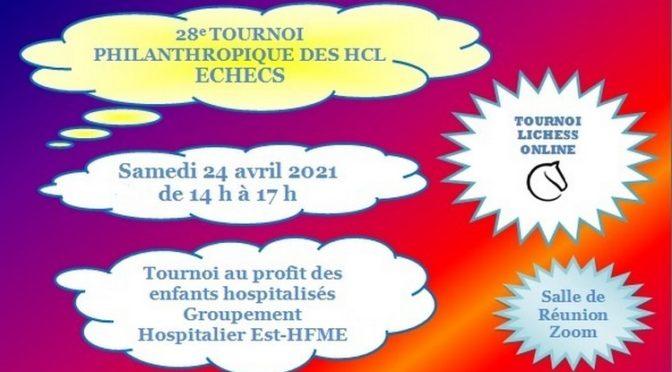 Tournoi des Hôpitaux – SAMEDI 24 AVRIL à 14h00